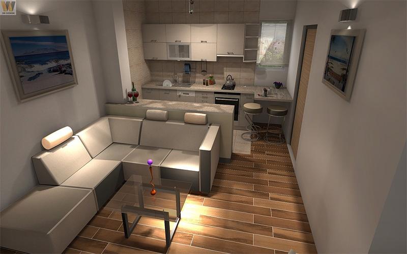 Vista de pisos en Sitges